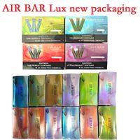 Nuevo paquete de aire Air Bar Lux Dispositivo de cigarrillo Vape E Vape E 500mAh Batería 2.7ml PODS 1000 Puffs DAB Airbar Kit vs Puff XXL