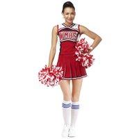 S-XL Sexy Baby Femme Cheerleading Costume WMHS Femelle Costume de danse uniforme