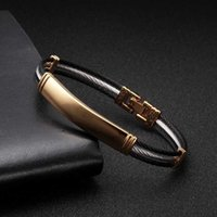 Vintage Sequin Snake Chain Link Charm Bracelets Men Women Jewelry Soft Health Stainless Steel Cuff Sporty