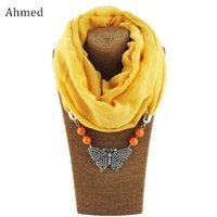 Colares Pingente Ahmed Design Acessório Acessório Borboleta Colar De Colar Para As Mulheres Moda Jóias Scarves Femme Bijoux