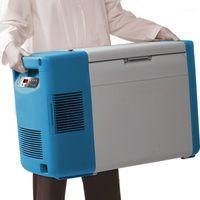 Портативный -86 градус Celsius Ультра-Низкотемпературный холодильник для лабораторных образцов Хранение Ульт Автомобиль Морожера11