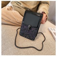 Shoulder Bags OIMG Women's Female Exquisite Color Matching Mobile Phone Ladies Fashion Flash Messenger Girls Handbags