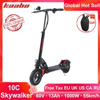 kaabo Skywalker 10C single drive 10inch tire foldable electric scooter 60V 1000W electric scooter