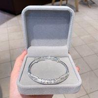 Zuiyin flor seda 999 prata prata pulseira feminina esterlina de prata jóias lisa Pé sólido pulseira de prata para mãe e namorada