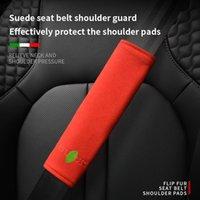 Sicherheitsgurte Zubehör Auto Sicherheitsgurt Schulter Pads Wildleder Schutzhülle für Regal Lacrosse Encore GX Excelle GT / XT Verano GL6 DE