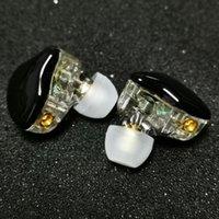 헤드폰 이어폰 Hanadomi 2DD MMCX 이어폰 이어폰 이어폰 이어폰 이어폰 DIY 맞춤형 암벽 금속베이스 DJ 헤드셋