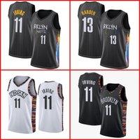 James 13 endurecer homens de basquete BrooklynRedesKyrie 11 Mens Irving College Kevin 7 Durant Outdoor Jersey Camisetas de Baloncesto 2021 Alta Qualidade S-XXL
