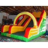 Bouncer de salto da corrediça comercial inflável seco para as atividades ao ar livre dos jogos das crianças