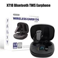 XT18 Bluetooth TWS Auricolari senza fili Cuffie wireless Stereo Sound Music Auricolare Auricolari per iPhone 11 12 13 Samsung S10 S20