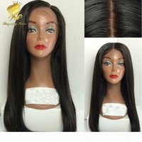 4x4 Straight Silk Base Wig Malaysian Silk Top Lace Front Wig Glueless Full Lace Human Hair Wigs