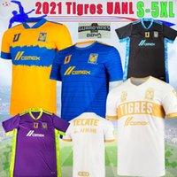 Liga MX 2021 Tigres UANL 7 نجوم Soccer Jigny Gignac Home Vargas بعيدا H. Ayala 3rd Sosa 21 22 حارس المرمى كرة القدم أكينو قمصان S-5XL