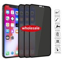 Full Screen Coverage Privacy Tempered Glass Screen Protector for IPhone 13 12 11 ProMAX 6s 7 8 Plus Anti-spy Glass Film for IPhone 13pro XS MAX X XR Factory Wholesale
