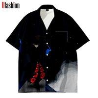Башня Божья Блузка разворотный воротник с коротким рукавом длина полиэстер вскользь стиль лето высокое качество унисекс мода топы женские блузки