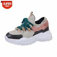 Gykz Frühling Herbst Frauen Casual Schuhe Komfortable Plattform Frau Turnschuhe Damen Trainer Chaussure Femme Tenis Feminino # V41i
