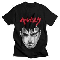 Men's T-Shirts Berserk Guts T Shirt Men 100% Cotton Printed T-shirt Graphic Tshirt Short Sleeve Manga Anime Gatsu Sacrifice Tees Tops
