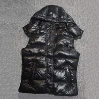 Mulheres para Down Coletes Inverno Sem Mangas Clássico Dois Estilo Casacos Moda Casual Homens Puffer Colete Unisex Outerwear Womens Roupas
