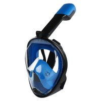 Diving Masks Full Face Snorkeling With Breathable Tube For Swimmer Underwater Anti Fog Snorkel Training Scuba