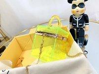Sac de bijoux pour femmes classiques de luxe Designer limitée édition PC transparent sac à main en métal Sac à bandoulière réglable Super mini bijoux boîte