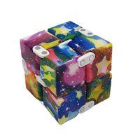 Infinity Nevelty Magic Cube Creative Sky Antistress 장난감 Office 플립 큐빅 퍼즐 미니 블록 압축 해제 재미 있은 장난감 W2627