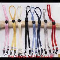 Other Home Storage Organization Adjustable Face Lanyard Handy Convenient Holder Antilost Antidrop Mask Hanging Neck Rope Halter Ropes E89Mw