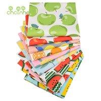سلسلة نمط الفاكهة، مطبوعة نسيج القطن حك القطن، ل diy خياطة خياطة الطفل قميص الأطفال، اللباس، تنورة، مواد الملابس السرير