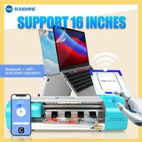 Power Tool Sets SUNSHINE SS-890C Pro Max Dual Intelligen Auto Cutting Machine Flexible Hydrogel Film For Cutter Screen Protective