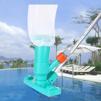 Pool & Accessories Cleaner Brush Vacuum Head Set With Bag Hose Adapter Cleaning Tool Swimming Spa Pond Tools