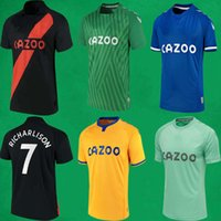 21 22 Everton Soccer-Trikots Richarlison James Allan Rodriguez Calvert Lewin Football Hemden 2021 2022 Männer Kinder Kits Sportuniformen