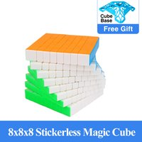 Yuxin Little Magic 8x8x8 Cube Aufkleberless Cubo Magico 8x8 Speed Cube Neueste