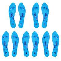 Schuhe Materialien 1 Paar Gel Einlegesohle Gesundheitswesen Elastische Fußpolster Silikon Entspannung Schmerzlinderung Transparente Massage Rutschfeste Magnettherapie