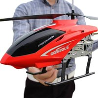 80CM Super Large RC Aircraft Helicopter Toys Recharge Fall Resistant Lighting Control UAV Plane Model Outdoor Toys For Boys 210915