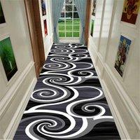 Carpets Long Modern Stairway Carpet Nordic Home El Aisle Runner Rug Corridor Hallway For Living Room Anti-slip Kitchen Mat