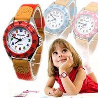 Nette Jungen Mädchen Quarzuhr Kinder Kinder Stoffband Student Time Clock Armbanduhr Geschenke @ 88 Armbanduhren
