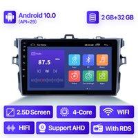 الروبوت 10.0 2 + 32 جرام سيارة دي في دي راديو الصوت لتويوتا كورولا E140 E150 2006-2013 الملاحة GPS الوسائط المتعددة الفيديو مشغل 2 الدين