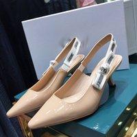 2021 boa qualidade moda mulheres luxurys designers sapatos designer sandálias mulheres luxo salto alto sandália vestido shoess com caixa tamanho 35-40-C170