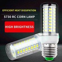 Bulbos Juss Fort Light LED Luz de maíz E27 Sala de estar Bombilla de techo E14 Resalte 110V Lámpara de ahorro de energía