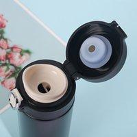 420 ml Akıllı Termos Paslanmaz Çelik Su Şişesi LED Dijital Sıcaklık Ekran Kahve Termal Kupalar Akıllı Yalıtım Bardakları 1435 V2