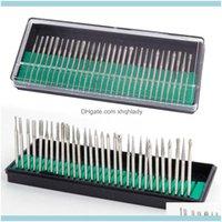 Aessori Salute Beauty Art Salon Tools 30pcs Nail Drill Set Pedicure Bits per Manicure Hine 2DOT35 Asta lucidante Rettifica Testa di rettifica