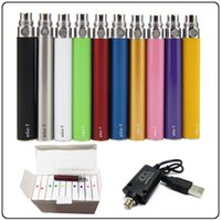 Ego T Vape Battery With USB Charger 650mAh 900mAh 1100mAh Top Quality Multi Colors Ego-T Batteries 510 Thread Egot Vapes Pen