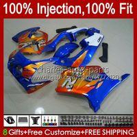 Injection corporelle pour Honda Blue Orange CBR250RR 1990 1991 1992 1994 1997 1997 1998 1999 1999 111HC.63 CBR 250RR 250 RR CC 250CC MC22 CBR250 RR 90 91 92 93 94 95 96 97 98 99 Catériel