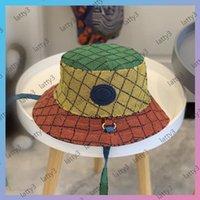 Renkli Kova Şapka Kapaklar Kadın Erkek Şapkalar Cappelli Firmatı Luxurys Tasarımcılar Cap Şapkalar Erkek Bonnet Beanie Yaz Kap Çok-Stilleri