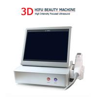 آلة التخسيس البسيطة فعالة من حيث التكلفة 3D 3D HIFU ركز جهاز الموجات فوق الصوتية لإزالة التجاعيد