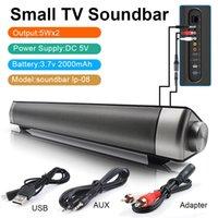 Bluetooth 4.1 Soundbar USB AUX Stereo Hoparlör Kablosuz Hoparlör Bleutooth Ses Bar Ev Sineması Ses Sistemi PC Hoparlör TV