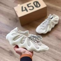 450 Nube White Kanye West Running Shoes Hombres Mujeres Bone Dark Slate Designer Sneakers vienen con el cuadro 2021SS Newest Fashion Shoe
