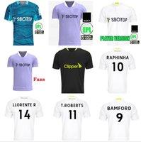 Fãs jogador leeds camisas de futebol unidos 21 22 t roberts harrison hernandez costa bamford alioski clarke 2021 2022 camisa de futebol uniformes homens kit