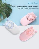 Desen Cep USB Şarj Mini-Tutun Hayranları Açık Ince Küçük Sevimli Mini Taşınabilir Fan Hava Soğutucu