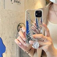 Moda Beautiful Thone Case para iPhone 12 Pro Max Casos Luxo Marca Designer Lanyard Jóias Mulheres presentes Phone11 12Pro 11xs XSmax XR 8PLUS 8 7PLUS JY001