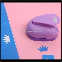 Boncuk Mini Karalama Defteri Yumruklar El Yapımı Kesici Kart Calico Baskı DIY Çiçek Kağıt Zanaat Yumruk Delik Puncher Şekli Wmtzch XFB5H A3A4I