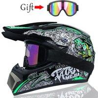 Motorcycle Helmets Full Face Motocross Off Road Racing Helmet Motorbike ATV Dirt Bike Capacete Motocycle
