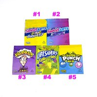 sours sour punch sweetarts gummies warheads plastic packaging bags EMPTY ropes bites 420 edible package 500mg candy gummy edibles smell proof bag